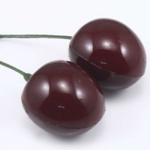 Cherry, foam, Burgandy, 6cm x 2.4cm x 2.4cm, 5 pieces, [ST861]